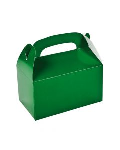 Green Favor Boxes