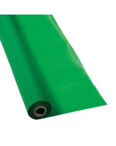 Green Plastic Tablecloth Roll