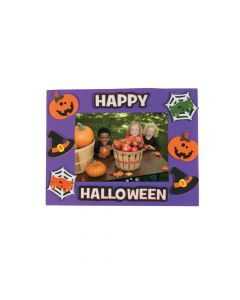 Halloween Friends Picture Frame Magnet Craft Kit