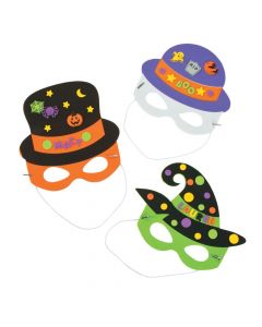 Halloween Hat and Mask Craft Kit