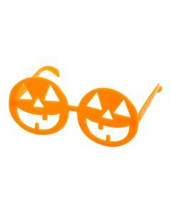 Halloween Jack-O'-Lantern Glasses