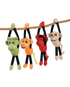 Halloween Long Arm Plush Sock Monkeys
