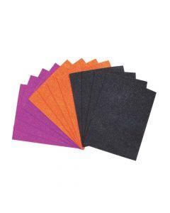 Halloween Self-Adhesive Glitter Foam Sheets