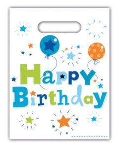 Happy Birthday Boy Party Bags