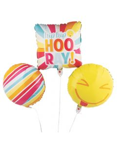 Happy Day Mylar Balloons