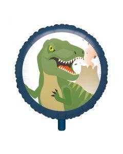 Happy Dinosaur Foil Balloon