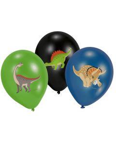 Happy Dinosaur Latex Balloons