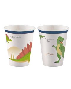 Happy Dinosaur Paper Cups