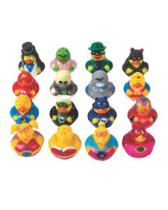 Heroes and Villains Rubber Duckies Assortment