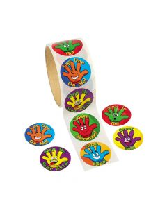 High Five! Sticker Rolls