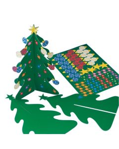 Holiday 3D Trees and Stickers