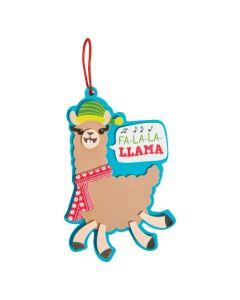 Holiday Llama Ornament Craft Kit