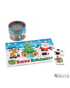 Holiday Puzzle in Can