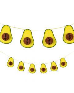Honeycomb Avocado Garland