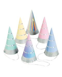 Hooray It's Your Birthday Party Cone Hats