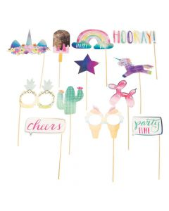Hooray It's Your Birthday Photo Stick Props