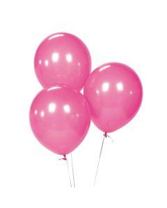 """Hot Pink 9"""" Latex Balloons"""