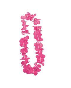 Hot Pink Flower Leis