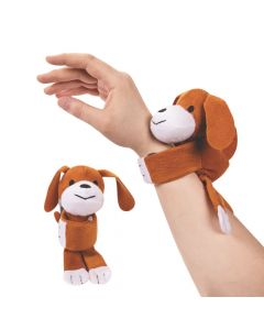 Hugging Stuffed Dog Bracelets