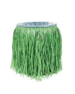 Hula Skirt Plastic Trash Can Cover