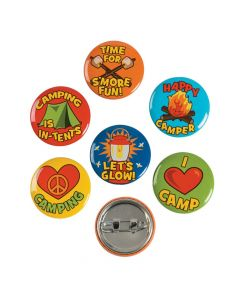 I Love Camp Mini Buttons