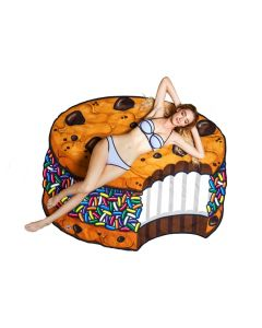 Ice Cream Cookie Beach Towel