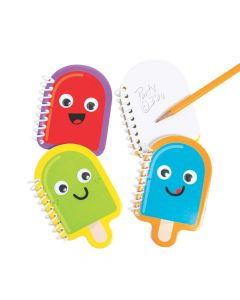 Ice Pop Party Googly Eyes Spiral Notepads