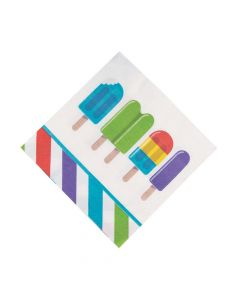 Ice Pop Party Luncheon Napkins