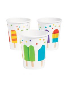 Ice Pop Party Paper Cups