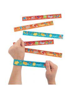 Ice Pop Party Slap Bracelets