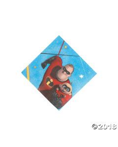 Incredibles 2 Beverage Napkins