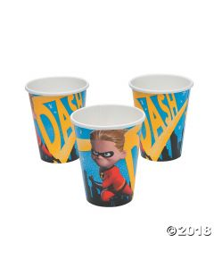 Incredibles 2 Paper Cups
