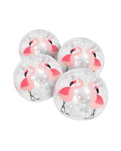 "Inflatable 5"" Flamingo Mini Beach Balls"