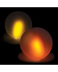 Inflatable Color Changing Glow-in-the-Dark Beach Balls