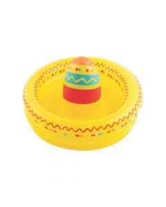 Inflatable Fiesta Sombrero Cooler