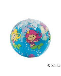 Inflatable Mermaid Beach Ball