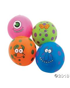 Inflatable Mini Monster Beach Balls