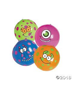 Inflatable Monster Beach Balls