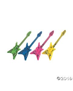 Inflatable Small V Guitars
