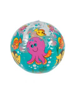 Inflatable Under the Sea Beach Balls