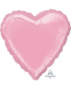 Iridescent Pearl Pink Heart