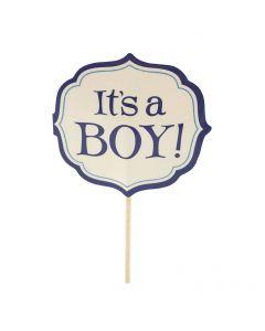 Its a Boy Cupcake Sticks