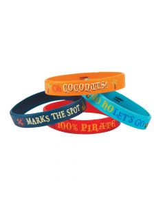 Jake and The Never Land Pirates Rubber Bracelets