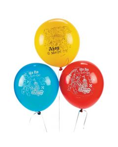 """Jake and The Neverland Pirates 12"""" Latex Balloons"""