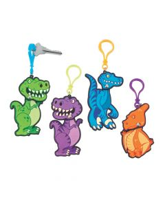 Jointed Dinosaur Backpack Keychains