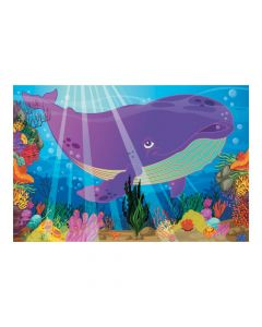 Jonah and the Whale Backdrop Banner
