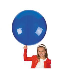 """Jumbo Blue 36"""" Latex Balloon"""