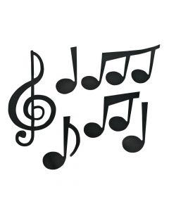 Jumbo Music Note Cutouts