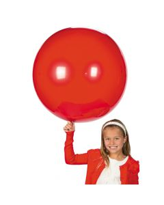 "Jumbo Ruby Red 36"" Latex Balloon"
