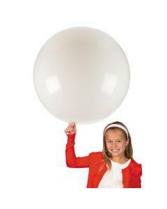 "Jumbo White 36"" Latex Balloon"